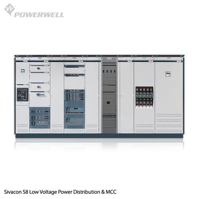 Sivacon S8 - Sivacon S8 Low Voltage Power Distribution & MCC